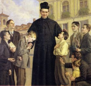 São João Bosco em 1887 - última fotografia do santo.