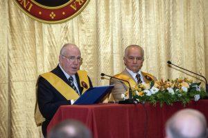 Dr. Caio Vidigal Xavier da Silveira, presidente da Fédération Pro Europa Christiana e da TFP francesa, abriu a série de conferências sobre Fátima e sua Mensagem