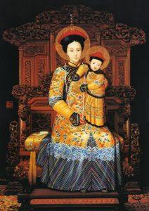 Imagem de Nossa Senhora Imperatriz da China