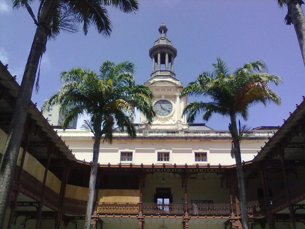 Vista interna da Universidade Federal de Pernambuco (Fundada em 1827)