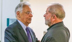 FHC com Fidel e Chavez — dois tiranos que afundaram seus países na extrema miséria e não apenas material, mas também cultural e espiritual. O que também teria ocorrido no Brasil, caso o PT não tivesse sido apeado do Poder.