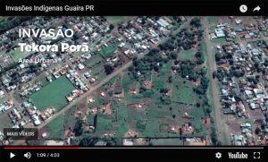 Prefeito de Guaíra desmente a FUNAI através de fotos via satélite