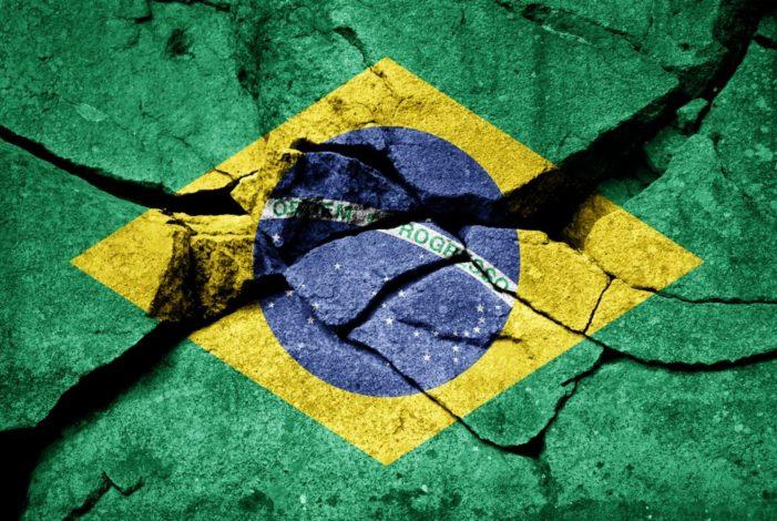 O Brasil de braço quebrado