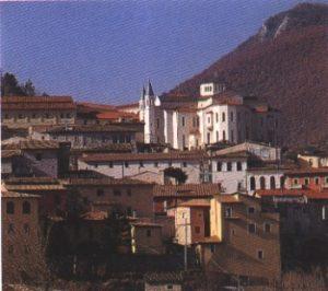 Centro histórico da cidade de Cássia