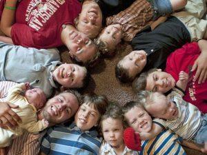14 filhos, todos varões, todos bem-vindos