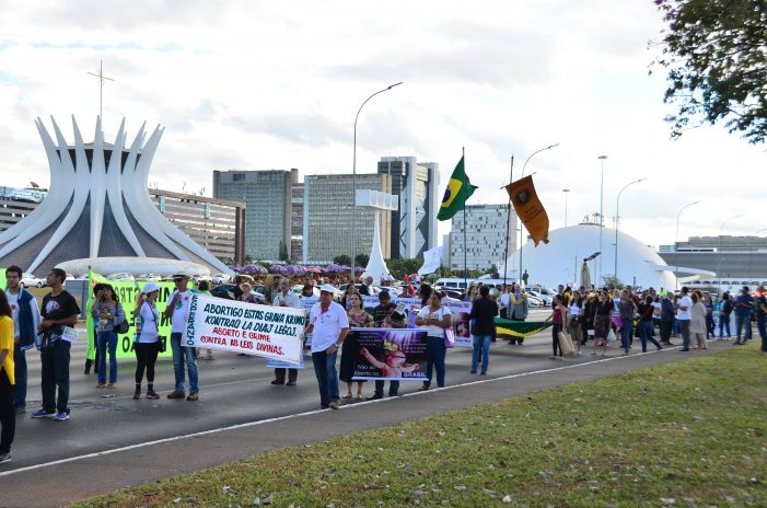 11ª Marcha nacional contra o aborto de Brasília