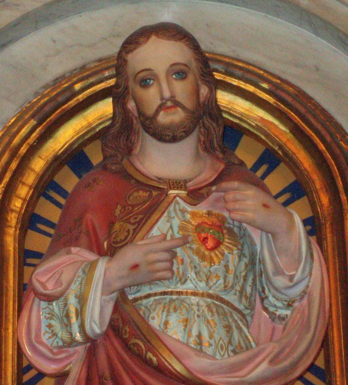 Particular devoção ao Sagrado Coração de Jesus