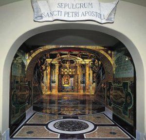 Crucifixão de São Pedro – Caravaggio (1571–1610). Basílica de Santa Maria do Povo, Roma.