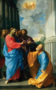 Cristo resgata Pedro das águas – Lorenzo Veneziano, 1370. Staatliches Museum, Berlim.