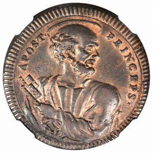 São Pedro Príncipe dos Apóstolos, moeda de 1796