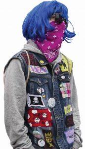 Um dos hooligans LGBT