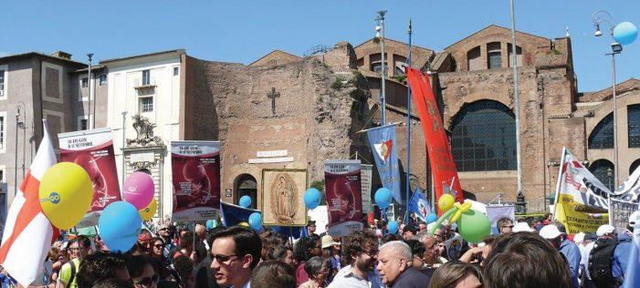 Em Roma, a oitava marcha contra o aborto