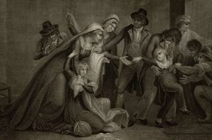 O pequeno Luís XVII é cruelmente separado de sua mãe, a Rainha Maria Antonieta