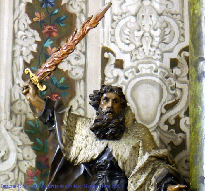 SANTO ELIAS — Espada e escudo da verdadeira fé