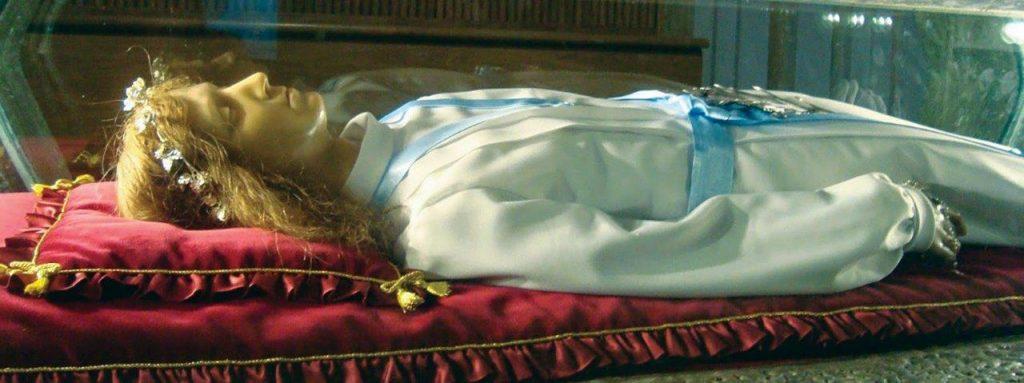 As relíquias de Santa Maria Goretti, em peregrinação pelos EUA