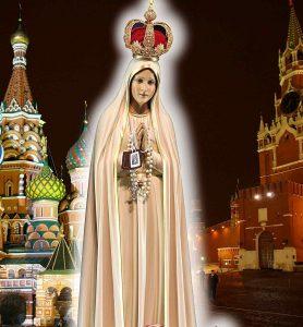 Nossa Senhora de Fátima triunfará e converterá todo o mundo eslavo, malgrado as insídias infernais