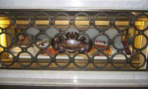 Túmulo de São Josafá na basílica de São Pedro, Cidade do Vaticano