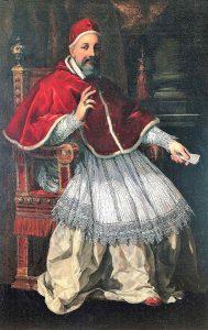 """Urbano VIII em 1627. Abriu com entusiasmo os braços ao 'uniatismo': """"Por meio de vós, meus ucranianos, eu espero converter o Oriente"""" Pietro da Cortona (1596 – 1669) Museo Capitolino"""