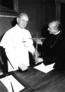 Paulo VI com D. Helder, o arcebispo-vermelho