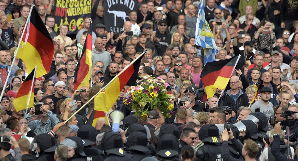 Alemanha protestos contra imigrantes