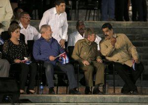Dilma, Lula, Castro e Maduro