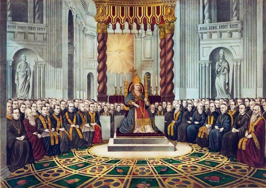 O Concílio Vaticano I definiu a infalibilidade pontifícia