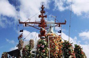 Santuário Na. Sra. de Nazaré, na cidade do mesmo nome, Portugal