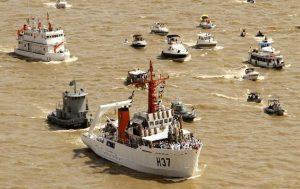 Belém (PA) 13-10-18: Procissão fluvial com a imagem de Nossa Senhora de Nazaré