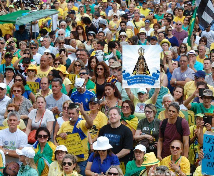 Nossa Senhora Aparecida, livrai o Brasil dos maus políticos!