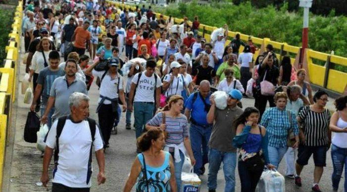 Decomposição venezuelana infecciona o Continente