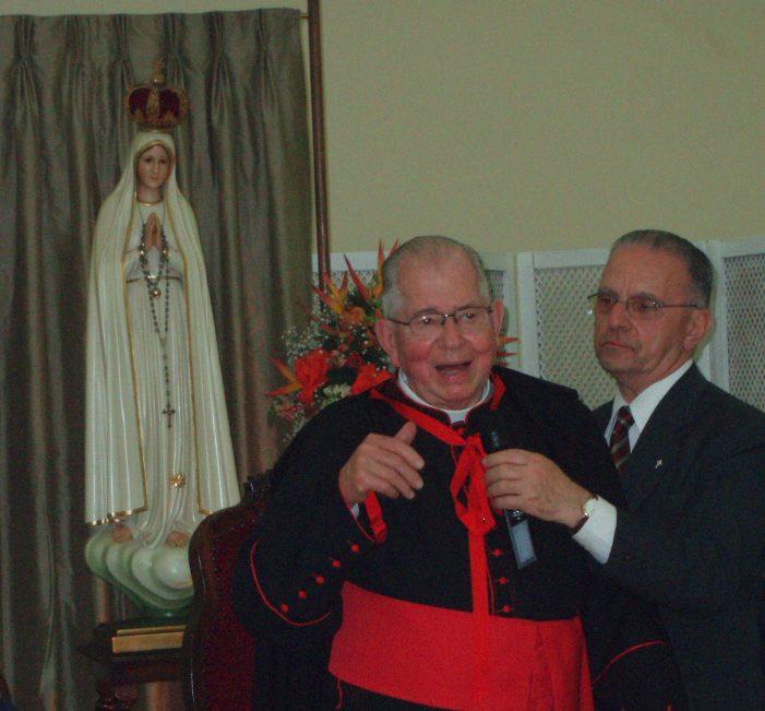 Mons. José Luiz Marinho Villac (1929-2018). Grande colaborador de Catolicismo