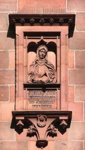 Homenagem a Soror Caridade no antigo convento das clarissas em Nuremberg
