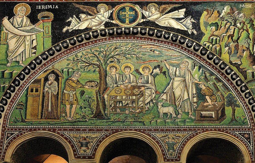 """Abraão era muito rico em rebanhos, prata e ouro (Gn 13,2); Isaac obteve o cêntuplo numa colheita e """"tornou-se extremamente rico"""" (Gn 26, 12-13)"""