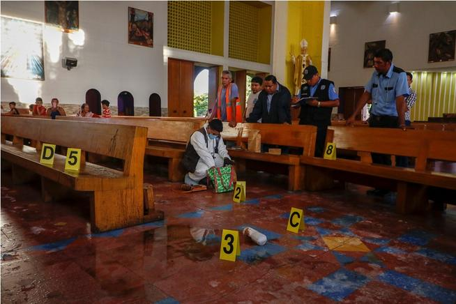Atentado a sacerdote na Nicarágua