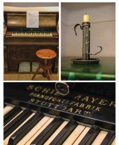 Instrumento no qual o Prof. Gruber compôs a música do Stille Nacht
