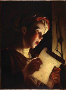 O jovem cantor – Georges de La Tour, séc. XVII. Coleção Particular.