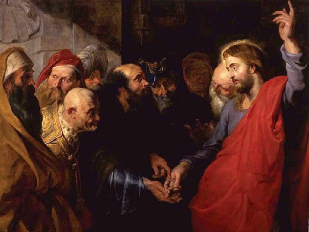 A César o que é de Cesar – Pedro Paulo Rubens, 1612. Fine Arts Museum of San Francisco, EUA.