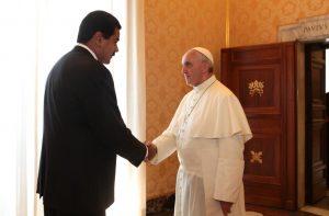 Bergoglio e Maduro