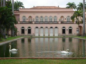 No Rio de Janeiro, Palácio do Itamaraty (antiga sede do Ministério das Relações Exteriores).