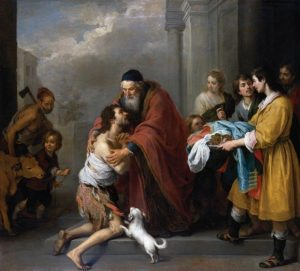 O retorno do filho pródigo – Bartolomé Esteban Murillo (1617–1682). National Gallery of Art, Washington