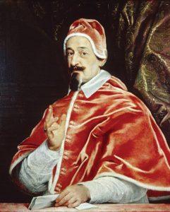 Retrato do Papa Alexandre VII Giovanni Battista Gaulli, séc. XVII. Walters Art Museum, Baltimore (EUA).
