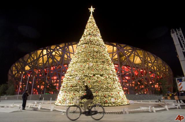 Celebração do Natal proibida na China