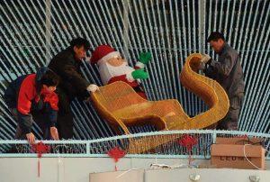 """Até mesmo """"Papai Noel"""" foi proibido na China"""