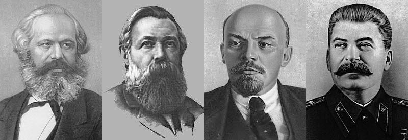 Marx_Engels_Lenin e Stalin