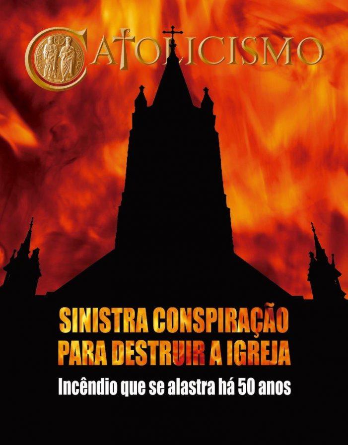 Um incêndio na Igreja iniciado há meio-século