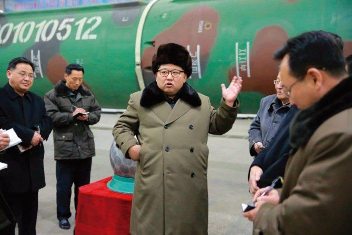 Bases atômicas secretas na Coreia do Norte