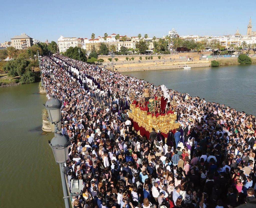 Procissão de Domingos de Ramos, em Sevilha