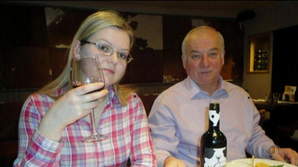 Sergueï Skripal e sua filha Iulia, vítimas mais recentes