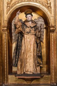 São Vicente Ferrer – Anônimo, séc. XVIII. Museu Santa Clara, Bogotá, Colômbia