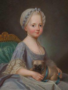 Mme. Elisabeth – Joseph Ducreux, 1768.